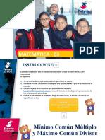 1_SEC_MATE_ACTIVIDAD VIRTUAL N°3_m.c.m y M.C.D.pptx