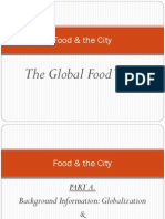 Food and the City - Global Food Trade
