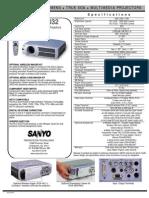 sanyo-plc-xu37-specs