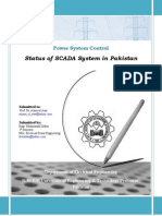 Status of SCADA System in Pakistan