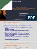 Apresentação Economista Carlos Gadelha