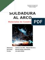 SOLDADURA AL ARCO