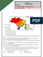 ATIVIDADE AVALIATIVA DE GEOGRAFIA 4º ano 2º tri 2020