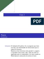 Procesamiento Natural del Lenguaje clase2