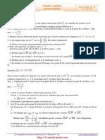 Serie-dexercices-Corrigés-Math-Complexes-4ème-Math-2009-2010