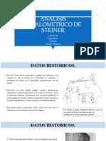 ANALISIS CEFALOMETRICO DE STEINER y MCNAMARA