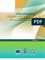 Guidelines on Mainstreaming Disaster Risk Reduction in Sub-national Development Land Use Planning