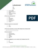 2003_salary_survey_questionnaire