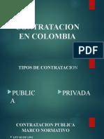 CONTRATACION EN COLOMBIA