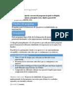 Proyecto Final Habilidades de Negociación y Comunicación Efectiva