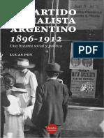 Poy Lucas - El Partido Socialista Argentino 1896 - 1912.pdf