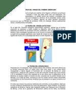 Teorias del origen del Hombre Americano.pdf
