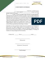 consentimiento,oficio, evaluación y concepto psicología