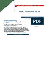 Sheiko Intermediate Medium Load _ LiftVault.com