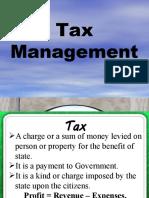 LCM-MBA Seminar Tax Management