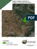 4.  Comunidades indigenas aledaдas en el sector (mapa)