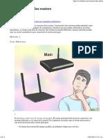 Cómo conectar dos routers - 21 Pasos