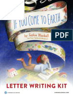 If You Come to Earth Letter Writing Kit