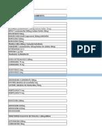 Inventario estante 6- 7 Uso institucional