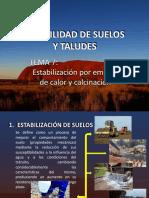 Calcinacion_estabilidad de taludes