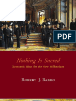 Barro R. - Nothing is sacred. Economic ideas for the New Millenium  - libgen.lc