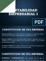 CONSTITUCION EMPRESAS