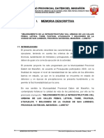 MEMORIA DESCRIPTIVA MEJORAMIENTO CALLES A NIVEL DE AFIRMADO.doc