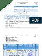 Unidad 2. Sesión 3. Planeación Didáctica. Procedimiento Administrativo. Enero 2020