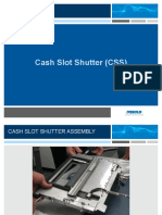 0 Cash Slot Shutter Assembly