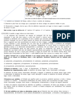 EXERCICIOS ADVERBIOS  12 DE AGOSOTO 2020 GRAMÁTICA