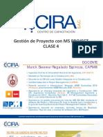Gestión de Proyectos con MS Project - Clase 4