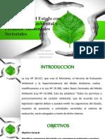 ORGANISMOS  DEL ESTADO CON COMPETENCIA AMBIENTAL