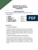 FORMULACION DE PROYECTO