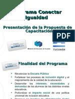 1-Propuesta de Capacitacion Conectar Igualdad Tucuman