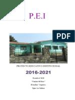 PROYECTO EDUCATIVO  INSTITUCIONAL 2017-2021 Final