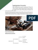 Mantenimiento y tipos de mantenimiento