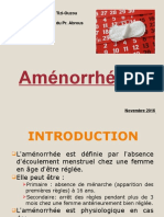 Aménorrhée.ppt