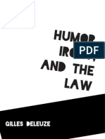 humor irony law read