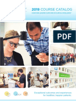 PDS University  Institute of Dentistry Clinical Course Catalog