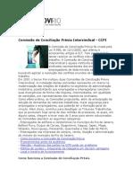 ARTIGO - CCP - Comissão de Conciliação Prévia - SECOVI