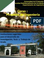 Clase 2  Instituciones Investigacion