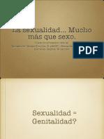 Sexualidad mucho más que sexo