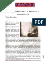 Nelly Arguedas, El Testimonio