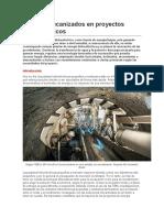 Túneles mecanizados en proyectos hidroeléctricos