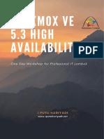 Modul One Day Workshop - Proxmox VE 5.3 High Availability (HA).pdf