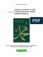 daily-wisdom-sayings-of-the-prophet-muhammad-by-abdur-raheem-kidwai