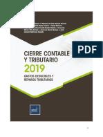Cierre Contable y Tributario 2019