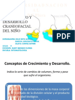 CRECIMIENTO Y DESARROLLO CRANEOFACIAL
