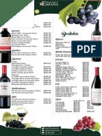 Vinos España Restaurante