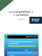Pipe Laying Methods